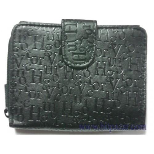 Дамско портмоне с букви и цип