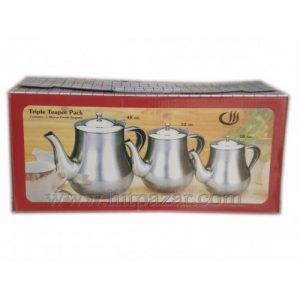 Комплект чайници тройка