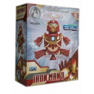 Детска играчка Танцуващ робот Iron man 3