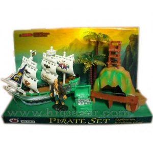 Комплект пиратски кораб 291183