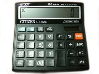 Калкулатор CITIZEN CT 555N