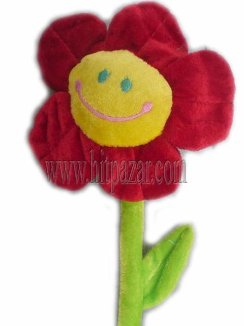 Плюшено цвете с дълга дръжка