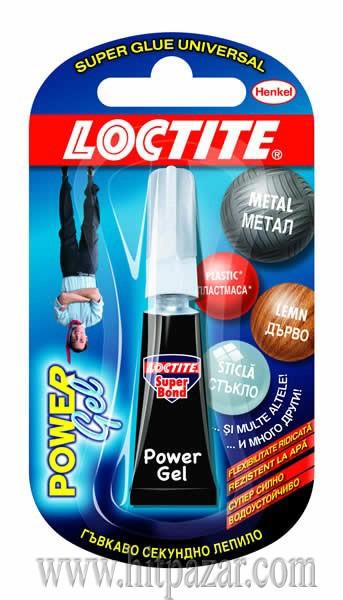 Секундно лепило Локтайт супер бонд Loctite Super Bond Power Gel 2 g - гел