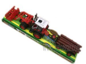 Детска играчка комплект Трактор с ремарке