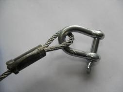 Въже за теглене стомана 2 тона