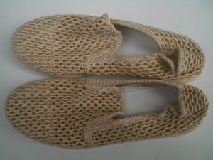 Плетени, мрежести обувки