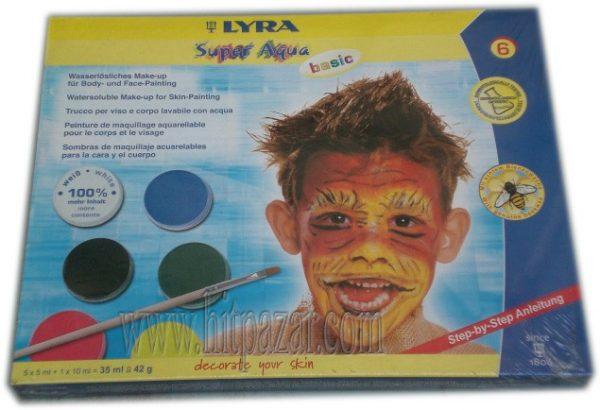 Парти бои за лице и тяло Lyra