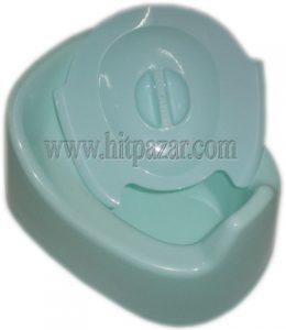 Пластмасово гърне с капак