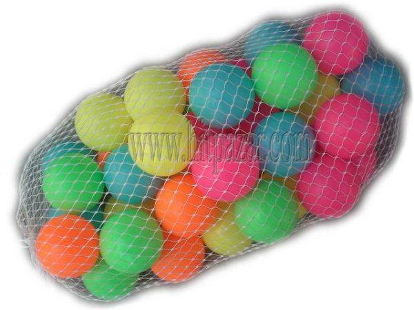Комплект малки топки - пластмасови