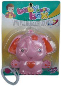 Занимателна играчка за бебе латерна Слонче