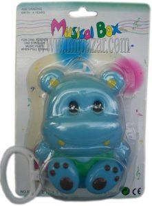 Занимателна играчка за бебе латерна Хипопотам