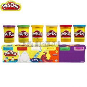 Play - Doh Плейдо: 4+2 Кофички с пластелин Primary Colors