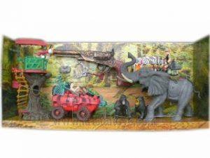 Комплект В царството на слоновете с джип