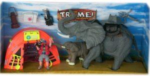 Детска играчка Комплект Слонско царство - спасителна мисия