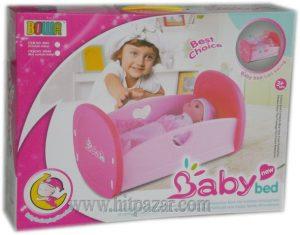 Комплект Люлееща се кошара с бебе