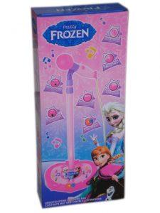 Детска играчка Микрофон на стойка Фрозен