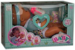 Детска играчка Сладко пикаещо и говорящо бебе