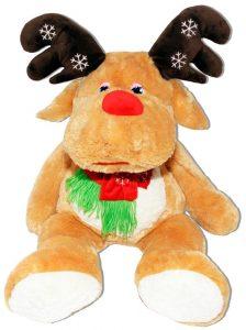 Детска плюшена играчка - Коледен Елен