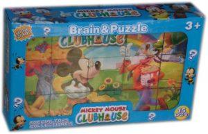 Занимателни кубчета с картинки Мики Маус