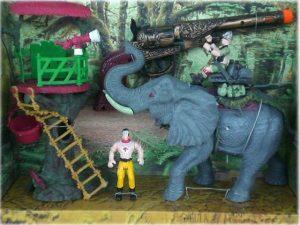 Детски играчка комплект В царството на слоновете