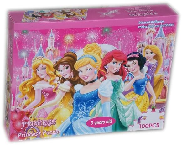 Пъзел Принцеси 100 части Princess