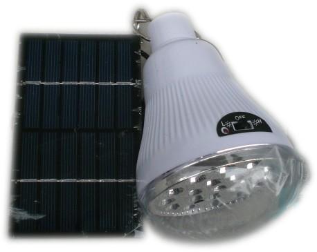 Соларна LED лампа с акумулаторна батерия