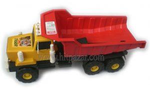 Детска играчка Голям пластмасов камион с лопатка