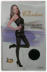 Ново - модерни фигурални чарапогащи Casandana