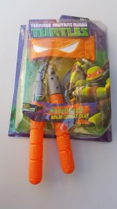 Комплект оръжие на костенурките Нинджа Микеланжело /Michelangelo/ (NINJA TURTLES) - Нунчаго