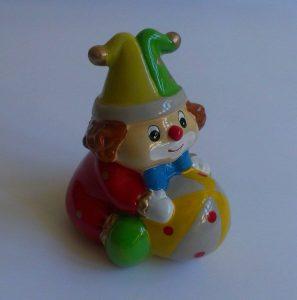 Керамична касичка - клоун