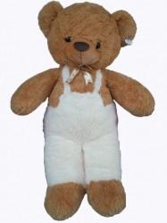 Детска плюшена играчка - Мече майстор кафяво