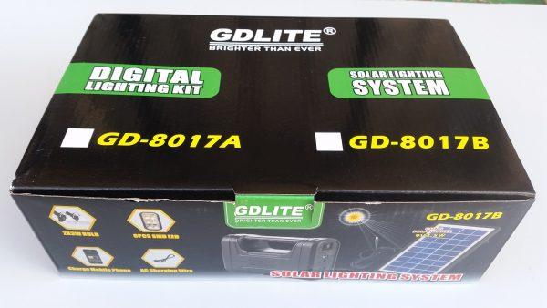 Комплект соларна система за Лед LED осветление GD 8017