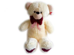Детска плюшена играчка Мече с панделка