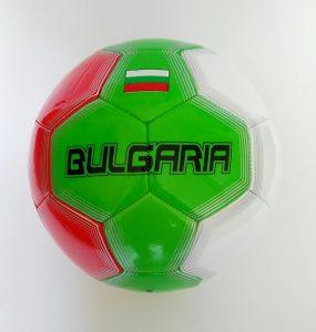 Футболна топка за игра на отбор България Bulgaria
