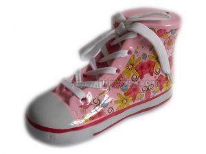 Керамична касичка - обувка , различни цветове