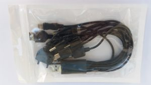 USB кабел/преходник с 10 накрайника - стандартни