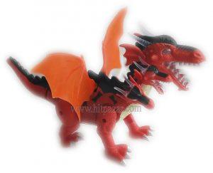 Детска играчка Динозавър Петглав ходещ със светлина и звук NY010-B