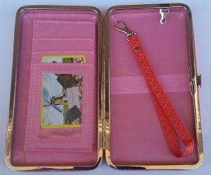 Калъф за телефон с портмоне