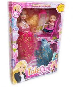 Детски комплект Кукла бременна + аксесоари 6013Е