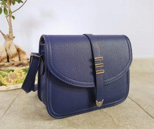 Дамска чанта - кожена, 2 цвята