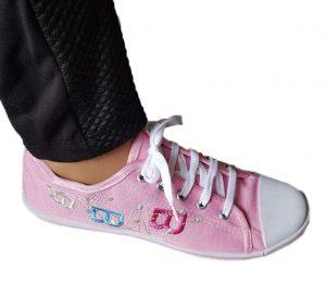 Дамски обувки гуменки - розови