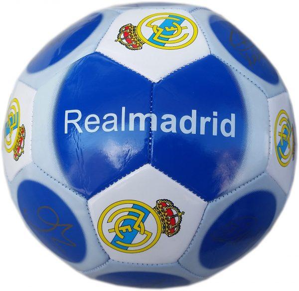 Футболна кожена топка за игра на футбол с отбор Реал Мадрид