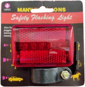 Мигаща LED лампа за велосипед повишаваща безопасността на колоездене