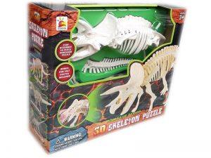 Динозавър 3D Скелет Джурасик парк Jurassic World